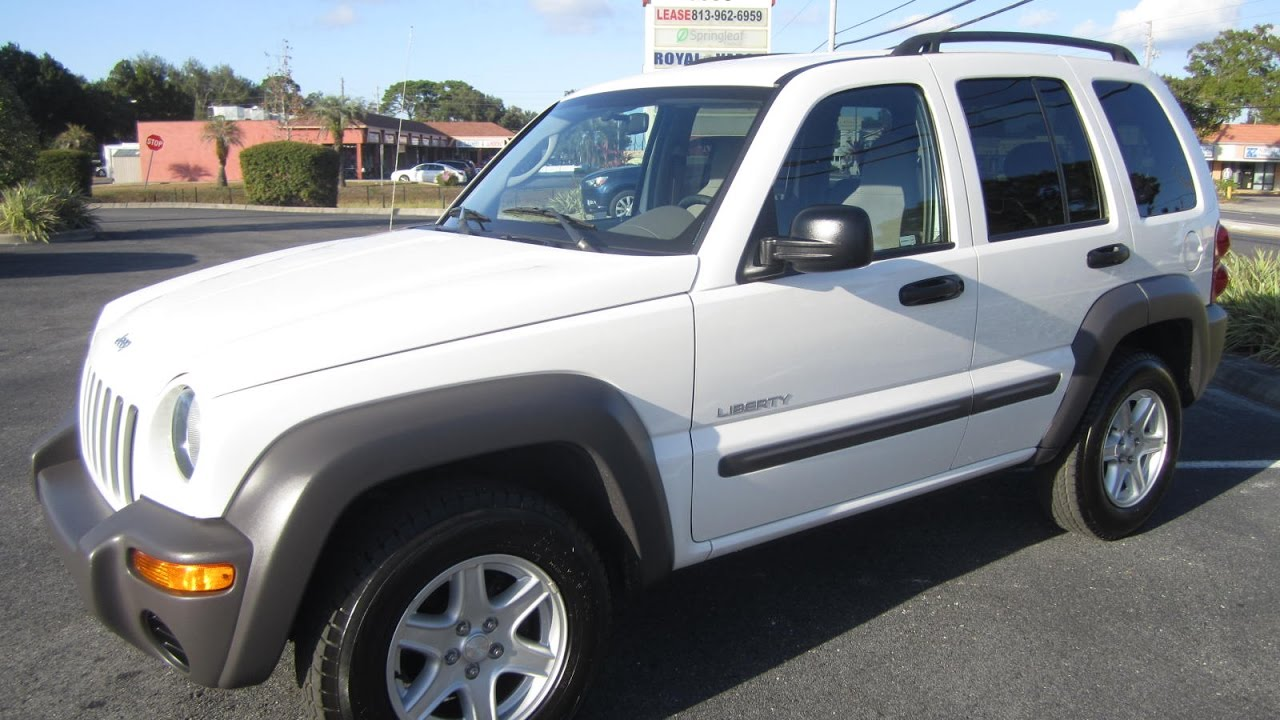 2004 jeep liberty sport owners manual
