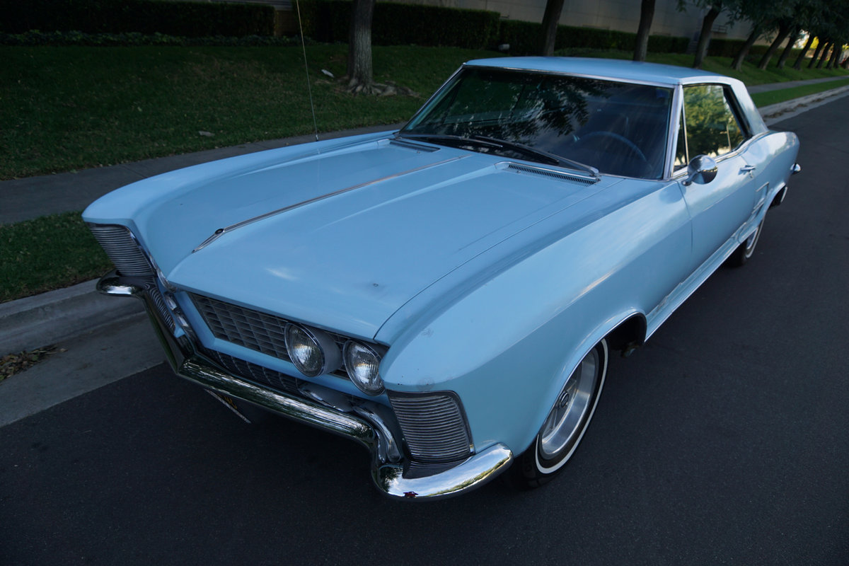 1963 buick riviera owners manual