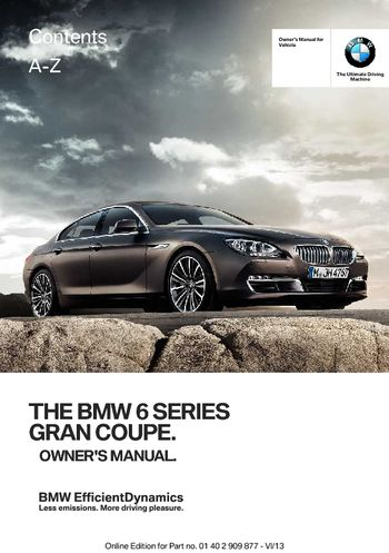 2014 bmw 750i owners manual