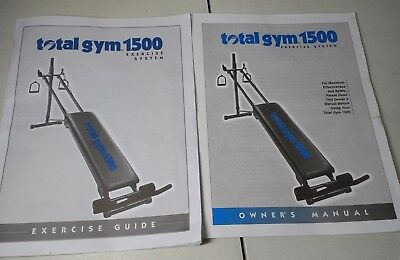 total gym 1500 owners manual