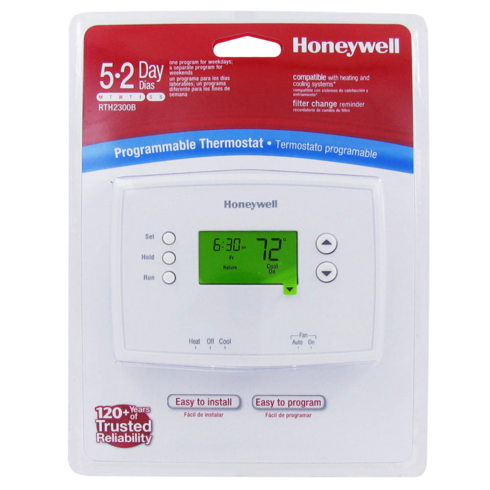 honeywell thermostat th6110d1021 user manual
