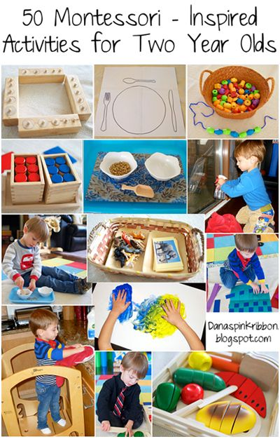 manual activities for 2 years old