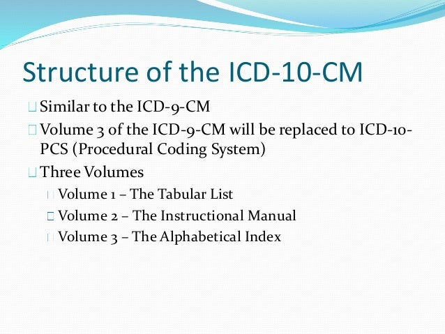 volume 2 of the icd 10 cm manual is the